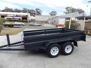 7x5 Tandem box trailer