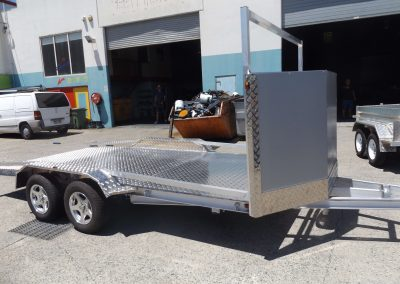 Aluminium car trailer gold coast