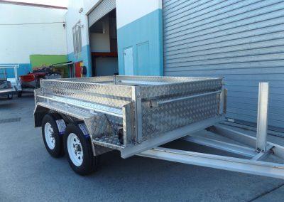 Aluminium tandem trailer