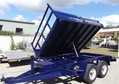 Custom made tipper trailer gold coast