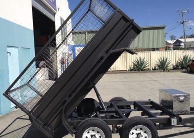 Tipper trailer for sael brisbane