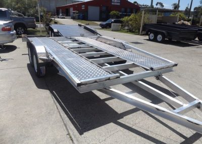 Aluminium car trailer